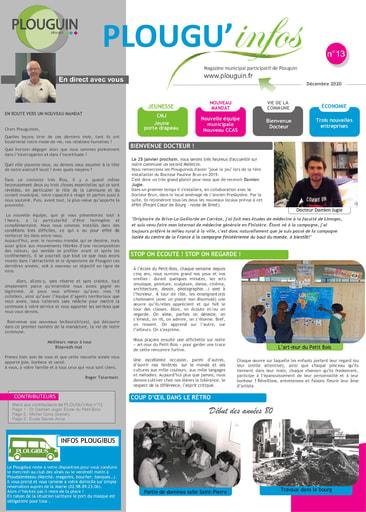 PLOUGU'infos n°13 - Décembre 2020
