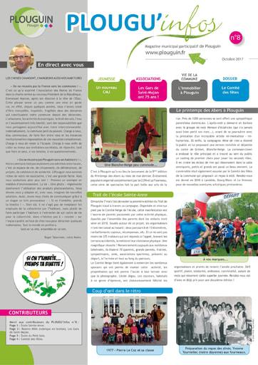 PLOUGU'infos n°8 - Octobre 2017