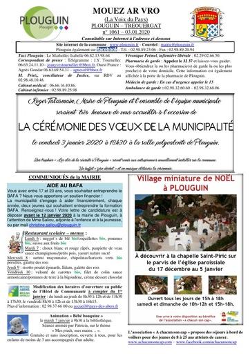 Mouez ar Vro 1061 du 3 janvier 2020