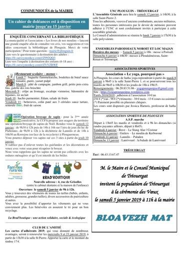 Mouez ar Vro 1013-2 du 04 janvier 2019