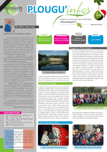 PLOUGU'infos n°4 - Décembre 2015