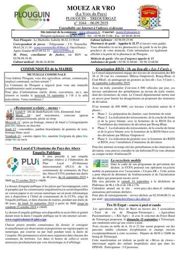 Mouez ar Vro 1044 du 6 septembre 2019