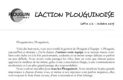 L'action plouguinoise n°2